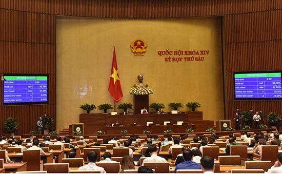 Quốc hội thông qua Luật Bảo vệ bí mật nhà nước