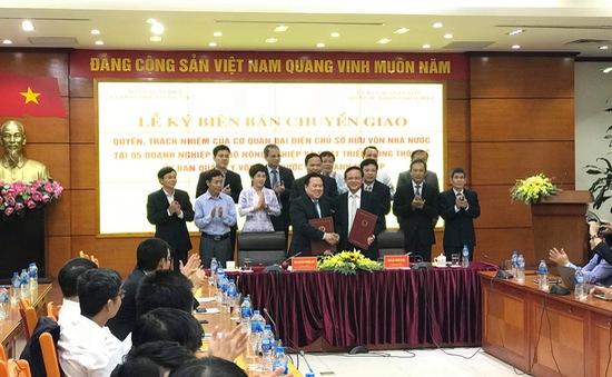 Ủy ban Quản lý vốn nhà nước hoàn thành tiếp nhận 19 đơn vị