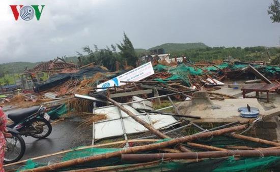 Lốc xoáy tại Gành Đá Dĩa (Phú Yên), 23 người bị thương