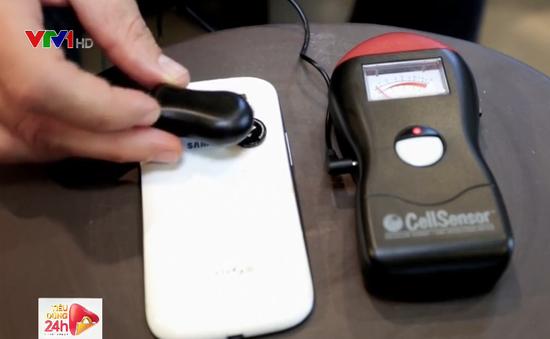 Thiết bị chống bức xạ điện thoại ngày càng phổ biến