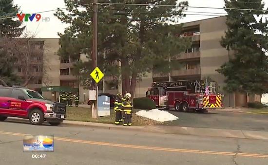 Mỹ: Cháy căn hộ, 13 người bị thương