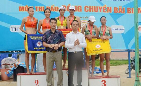 Đại hội Thể thao toàn quốc 2018: Chủ nhà Khánh Hòa giành trọn 2 HCV môn bóng chuyền bãi biển