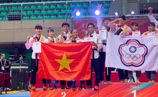 ĐT quyền taekwondo Việt Nam không giành được HCV nào tại giải VĐTG