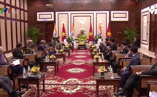 Tổng thống Ấn Độ tiếp kiến lãnh đạo thành phố Đà Nẵng