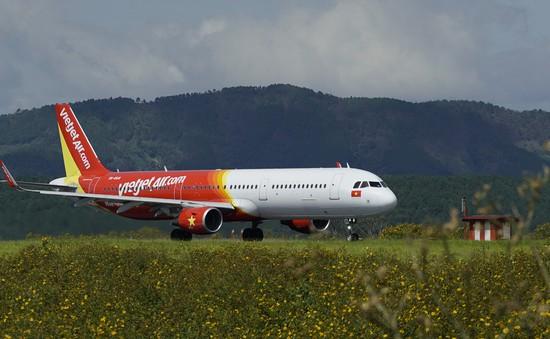 Máy bay Vietjet Air cất cánh 10 phút phải trở lại sân bay kiểm tra kỹ thuật