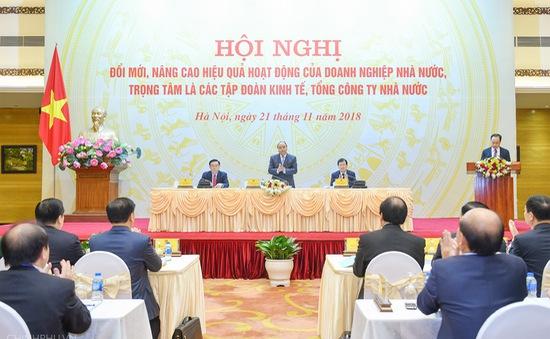 Thủ tướng Nguyễn Xuân Phúc chủ trì hội nghị đổi mới doanh nghiệp Nhà nước