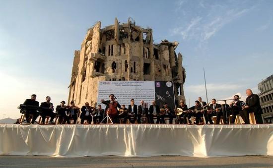 Tiếng nhạc ở Mosul, Iraq vang lên sau nhiều năm câm lặng vì chiến tranh