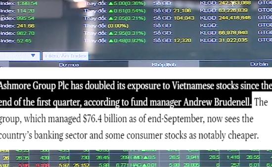 Bloomberg: Việt Nam là một trong những TTCK hấp dẫn nhất hiện nay