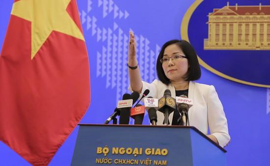 Việt Nam lên tiếng về việc Philippines và Trung Quốc hợp tác khai thác dầu khí