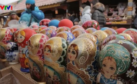 Làng nghề truyền thống Nga đau đầu vì hàng Trung Quốc