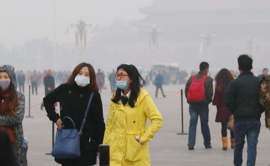 Sương mù dày đặc bao trùm miền Trung Trung Quốc