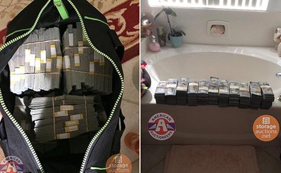 Mỹ: Phát hiện két chứa 7,5 triệu USD trong tủ mới mua