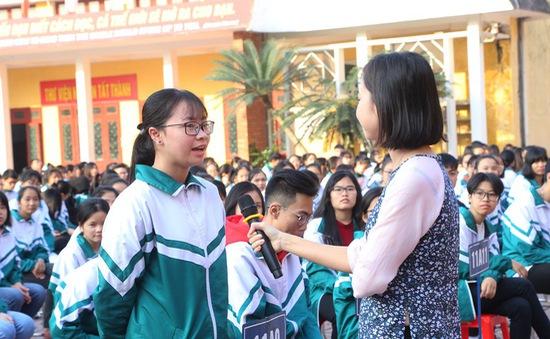 Học sinh Bắc Giang hào hứng hưởng ứng cuộc thi làm phim về phòng chống tác hại thuốc lá