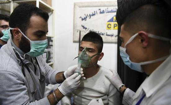 Tấn công hóa học tại Syria, 41 người bị thương