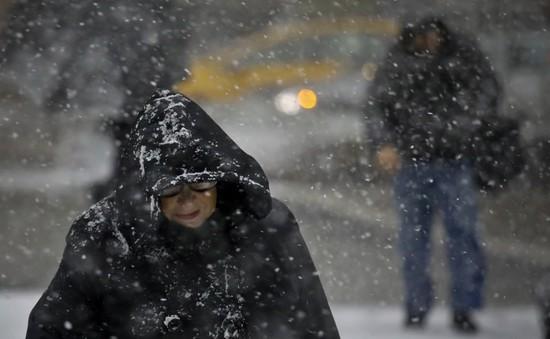 Tuyết đầu mùa dày kỷ lục ở Hàn Quốc
