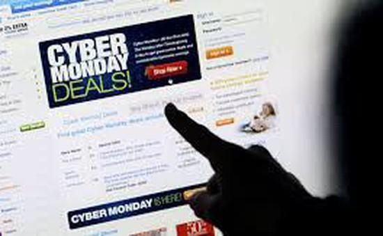 Ngày Cyber Monday lớn nhất lịch sử bắt đầu tại Mỹ