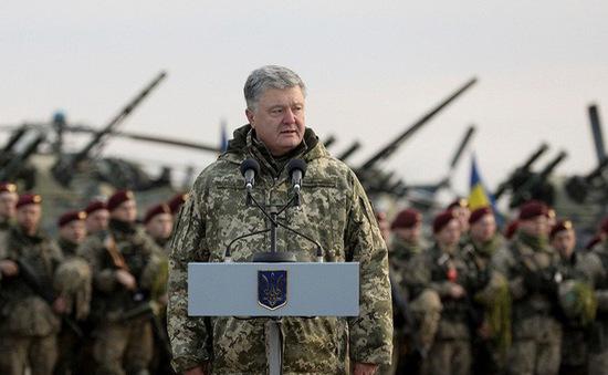 Ukraine sẽ áp đặt tình trạng thiết quân luật trong 30 ngày