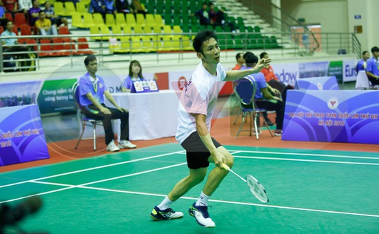 Môn Cầu lông Đại hội TTQT 2018: Tiến Minh giành HCV nội dung đơn nam