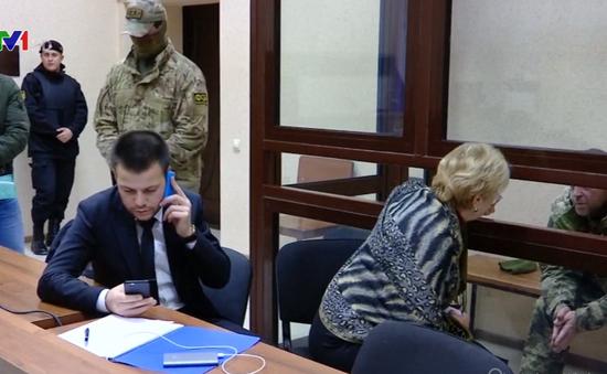 Nga mở phiên tòa xét xử 12 thủy thủ Ukraine