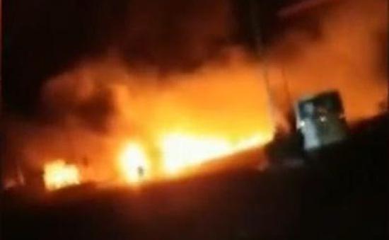 Nổ gần nhà máy hóa chất Trung Quốc, 22 người thiệt mạng