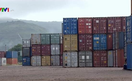 Giữ 7 container nhựa phế liệu vô chủ tại cảng Quy Nhơn