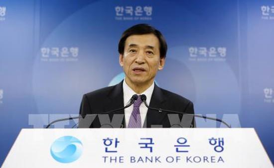 Hàn Quốc tăng lãi suất lần đầu tiên trong 12 tháng qua