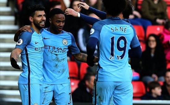 """Sane và Sterling gia nhập """"đội"""" của Messi"""