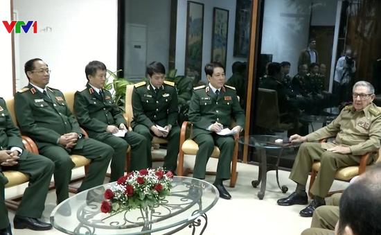 Tiếp tục thúc đẩy quan hệ quốc phòng Việt Nam - Cuba