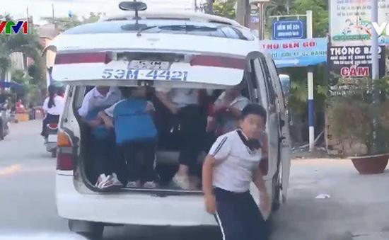 Đồng Nai: Xử lý xe quá hạn đăng kiểm chở học sinh
