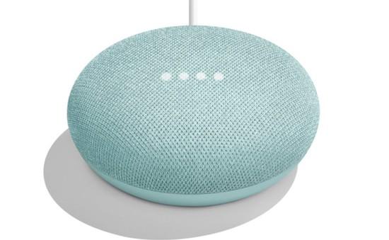Google Home Mini có thêm phiên bản màu xanh bạc hà