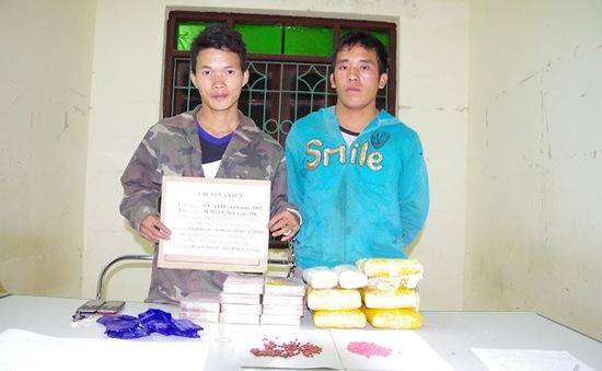 Điện Biên: Bắt hai đối tượng vận chuyển ma túy qua biên giới