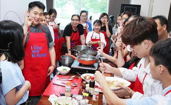 Đầu bếp hàng đầu Hàn Quốc quảng bá ẩm thực ở Việt Nam