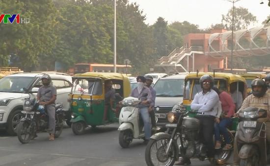 Người dân Ấn Độ lo lắng vì ô nhiễm không khí