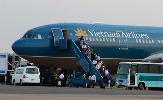 Máy bay Vietnam Airlines gặp sự cố kỹ thuật ở Đà Nẵng