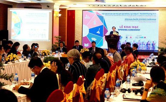 Khai mạc Hội nghị Di sản văn hoá phi vật thể Châu Á - Thái Bình Dương