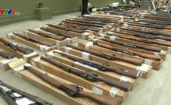 Argentina thu giữ lô vũ khí trái phép