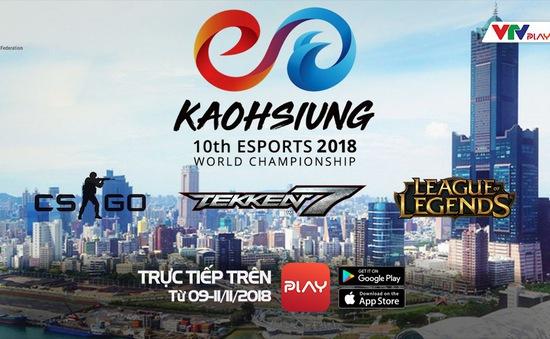 Cách xem trực tiếp ĐT Việt Nam thi đấu Giải vô địch Thể thao điện tử Thế giới