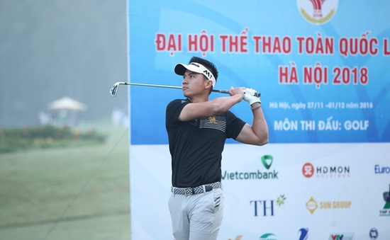 Môn Golf Đại hội TTTQ 2018: Đã xác định được các cặp tranh HCV và HCĐ nội dung đồng đội
