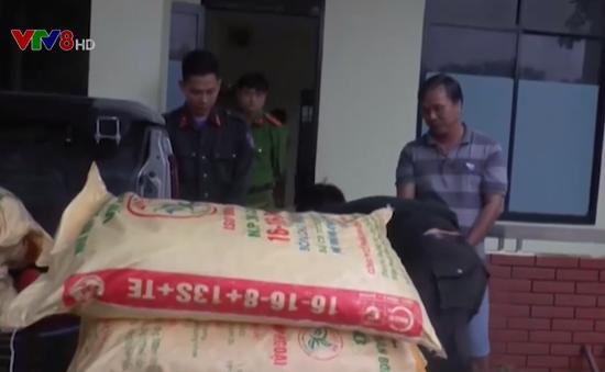 Quảng Nam: Bắt đối tượng vận chuyển 600kg cyanua trái phép