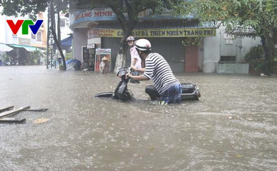 Từ đêm 11/12, dự báo mưa lớn trên diện rộng tiếp diễn từ Nghệ An - Quảng Ngãi
