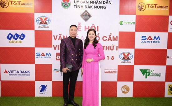 NTK Đỗ Trịnh Hoài Nam trình diễn BST tại Lễ hội văn hóa thổ cẩm Việt Nam