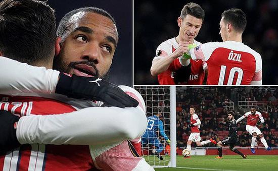 Kết quả UEFA Europa League: AC Milan bị loại, Arsenal thắng nhẹ