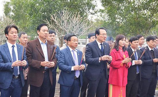 Hà Tĩnh tổ chức tưởng niệm danh nhân Nguyễn Công Trứ