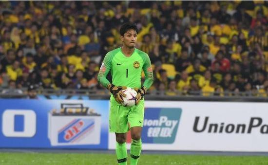 """AFF Cup 2018: 4 lần vào lưới nhặt bóng vì ĐT Việt Nam, thủ thành Malaysia vẫn """"nói cứng"""""""