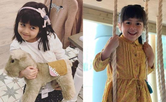 Cư dân mạng ngẩn ngơ trước vẻ xinh đẹp của con gái Lương Vịnh Kỳ