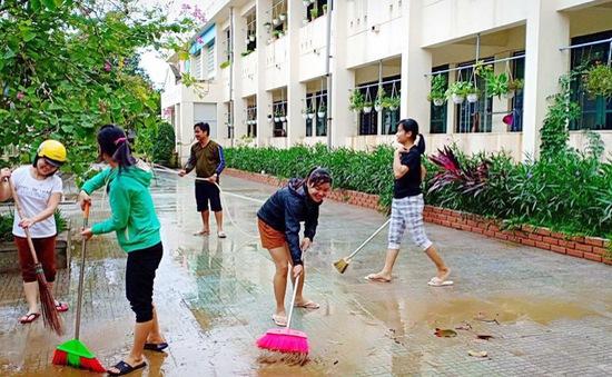8.000 học sinh ở Thừa Thiên Huế đã được trở lại trường học