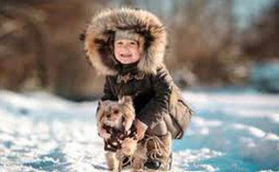 Lưu ý khi chăm sóc trẻ vào mùa đông