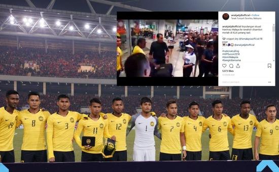 Á quân AFF Cup 2018 được chào đón như người hùng tại quê nhà