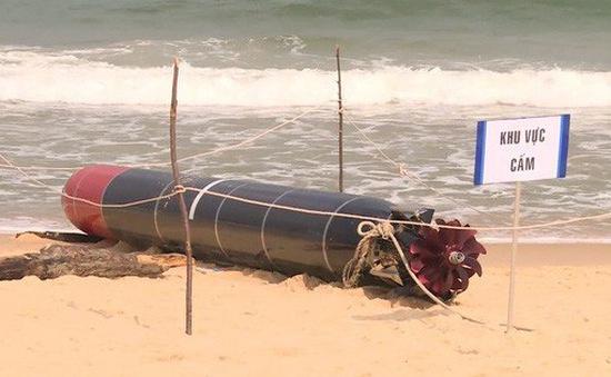Vật thể lạ ở Phú Yên là ngư lôi tập luyện của hải quân nước ngoài