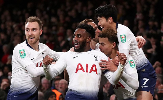 Hạ Arsenal, Tottenham giành quyền vào bán kết cúp Liên đoàn Anh